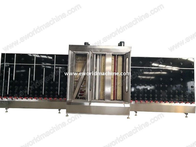 Full Automatic LOW E Vertical Glass Washing Cleaning And Drying Machine