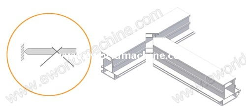 PVC Frame Window Welding Fabrication Machinery