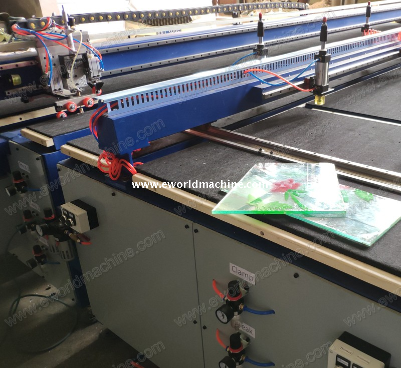 PLC Laminated Glass Cutting Table Machine