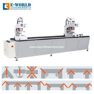 UPVC PVC Profile Window Corner Joint Fabrication Machine