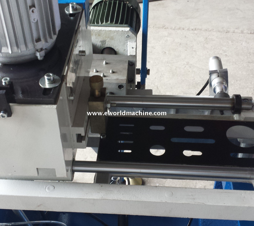 Lock Hole UPVC Vinyl Windows Door Making Machine