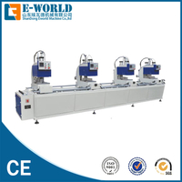 PVC Window Door Four Head Welding Machine