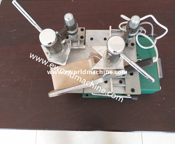 Portable UPVC Plastic Profile Single Head Welding Window Assembly Machine