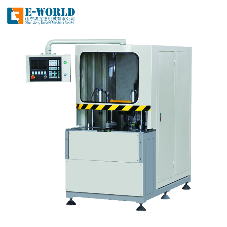 CNC Automatic UPVC windows Corner Clean Machine