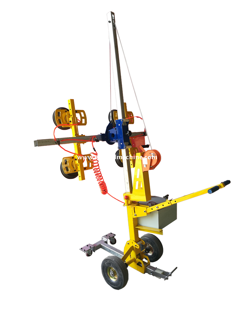 Curved Bus Glass Vacuum Lifting Equipment
