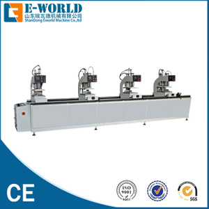 UPVC Door four head welding machine