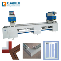 UPVC PVC Window Door Manufacture Corner Joint Fabrication Machine