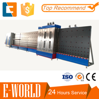 Automatic vertical insulating glass machine