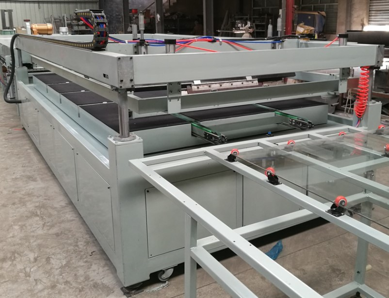 Semi-automatic Glass Screen Printing Machine