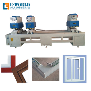 UPVC Aluminum Window Door Seamless Welding Making Machine