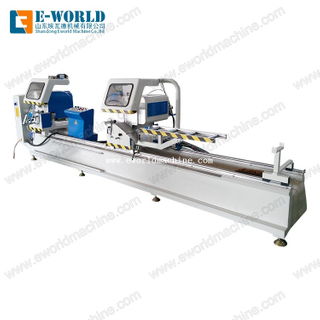 Aluminum window door making Double Head Cutting Machine
