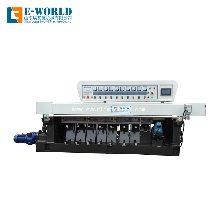 Glass Straight Line Miter Edging Pencil Edge Machine