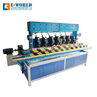 Glass Straight Line Edging Machine with 7 Motors For Flat Edge Polishing