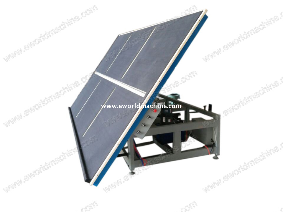 with Tilting Air Float Glass Loading Breaking Table